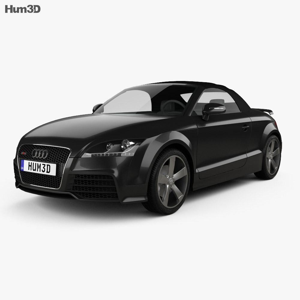 Audi TT RS roadster 2010 3d model