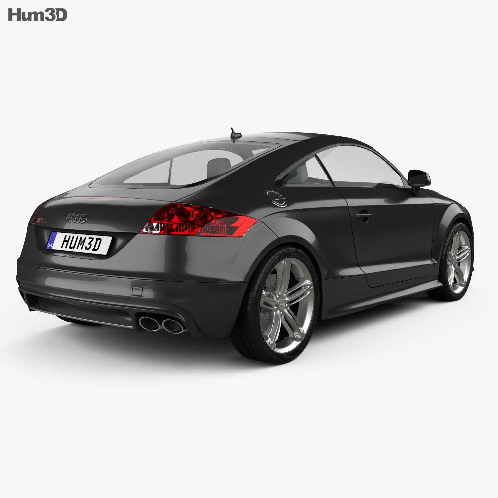 Audi TT S coupe 2010 3d model