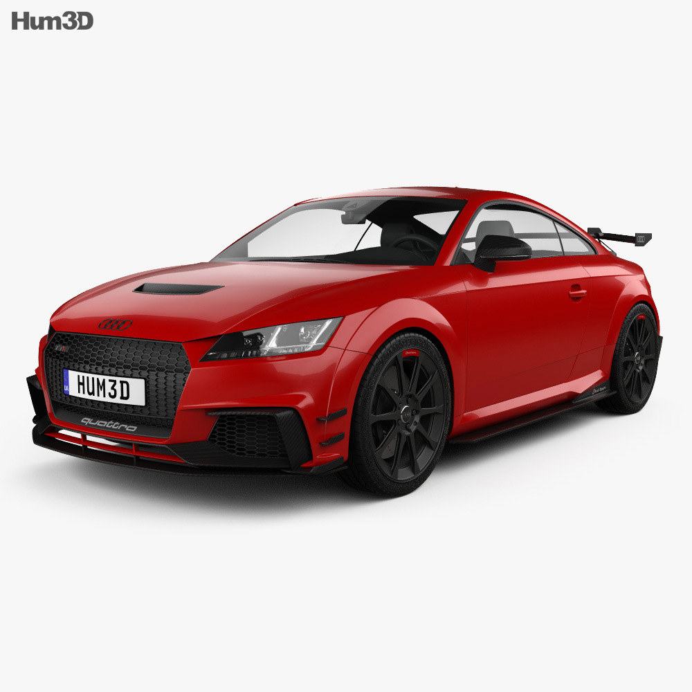 Audi TT RS Coupe Performance Parts D Model HumD - Audi performance parts