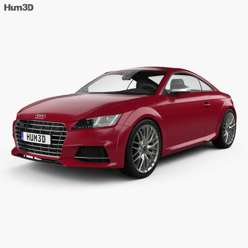 Audi TT (8S) S coupe 2015 3d model
