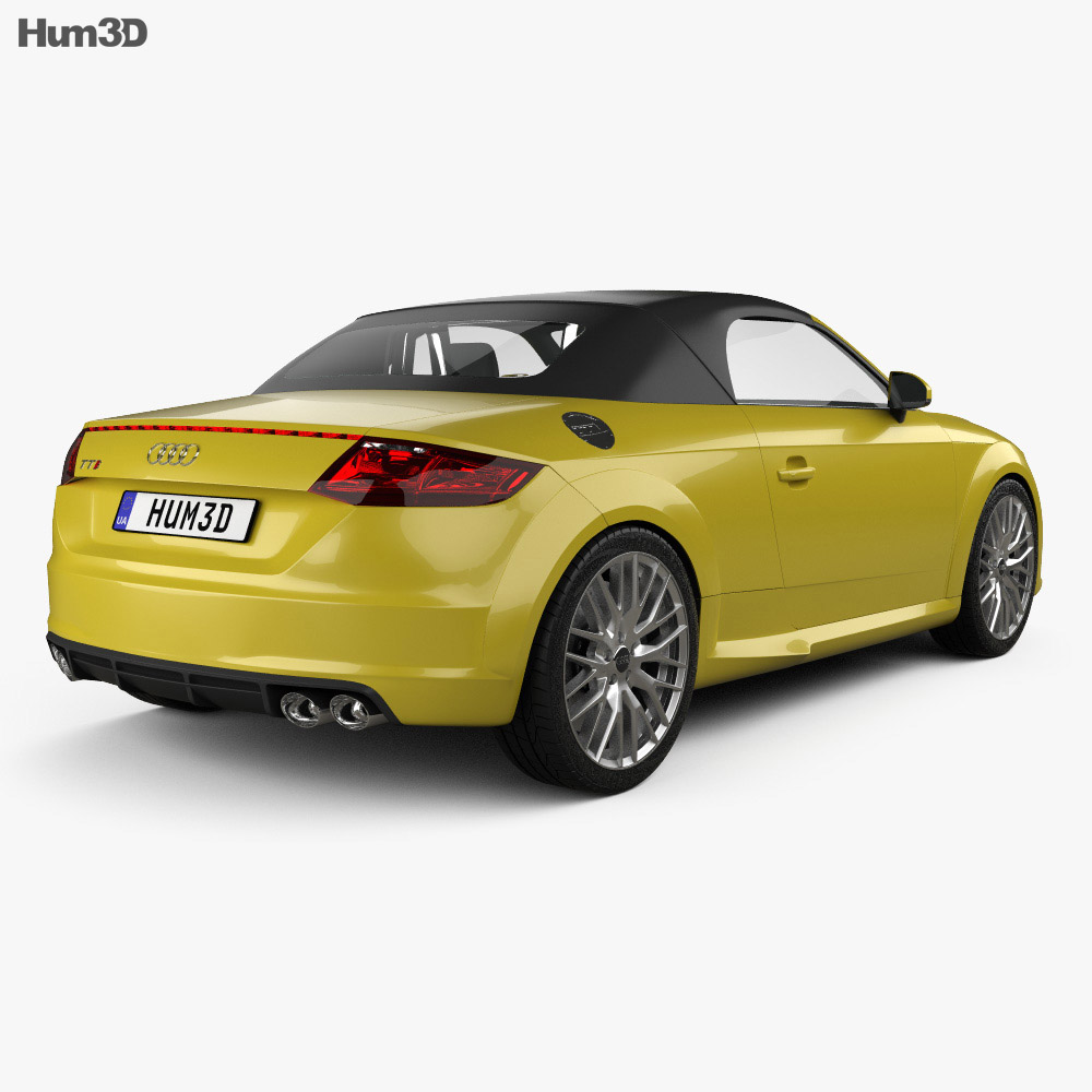 audi tt 8s s roadster 2015 3d model vehicles on hum3d. Black Bedroom Furniture Sets. Home Design Ideas
