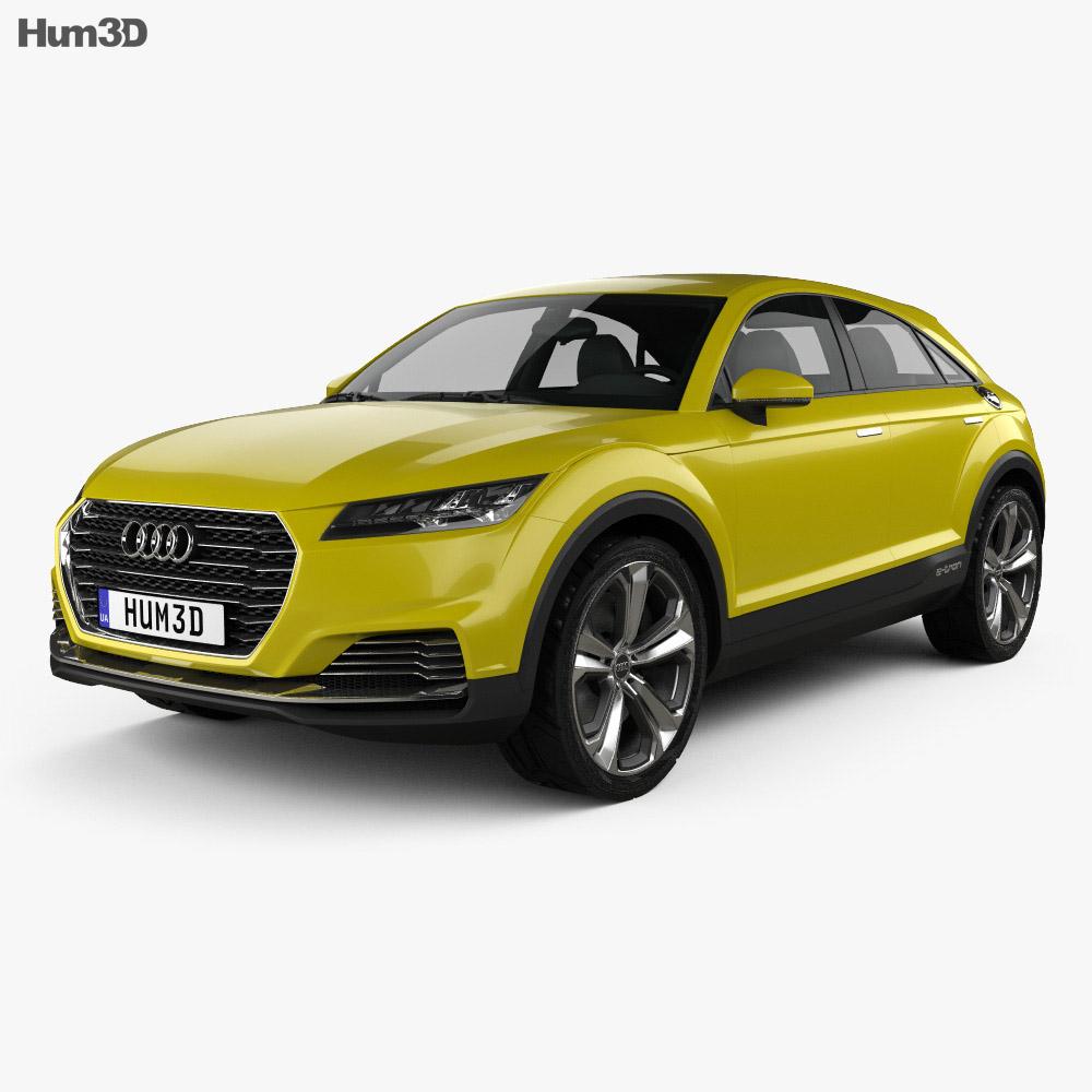 Audi TT offroad 2014 3d model