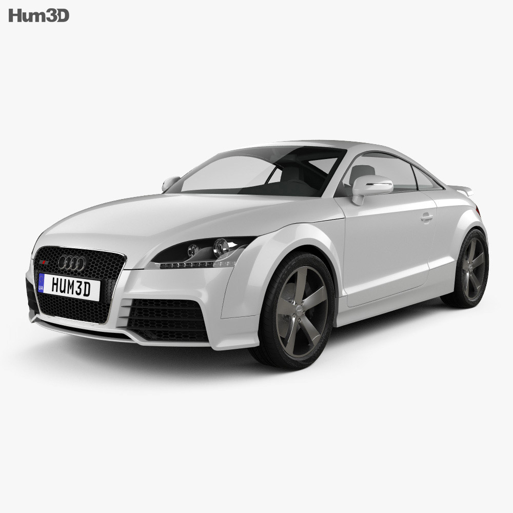Audi TT RS 2009 3d model