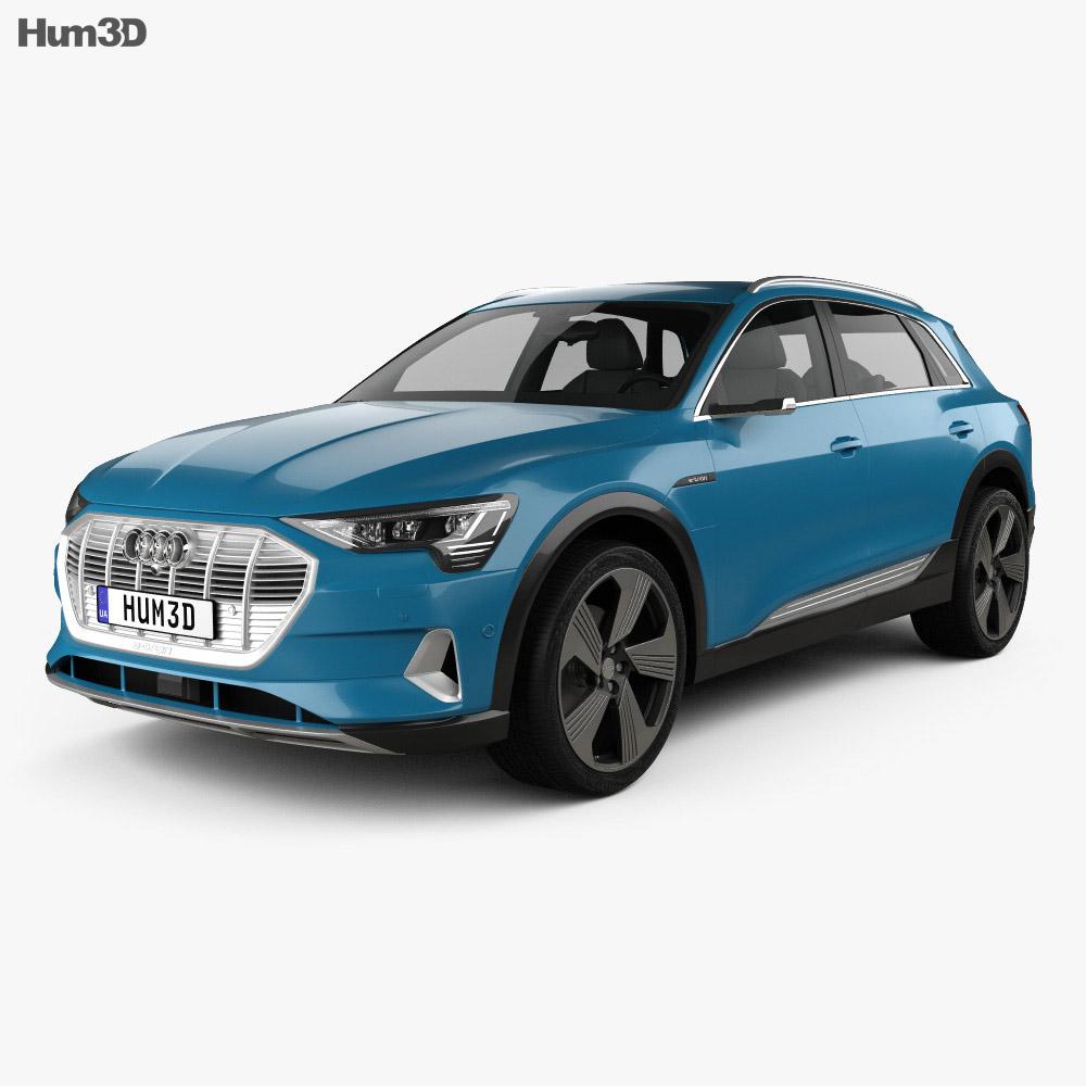 Audi e-tron 2019 3d model