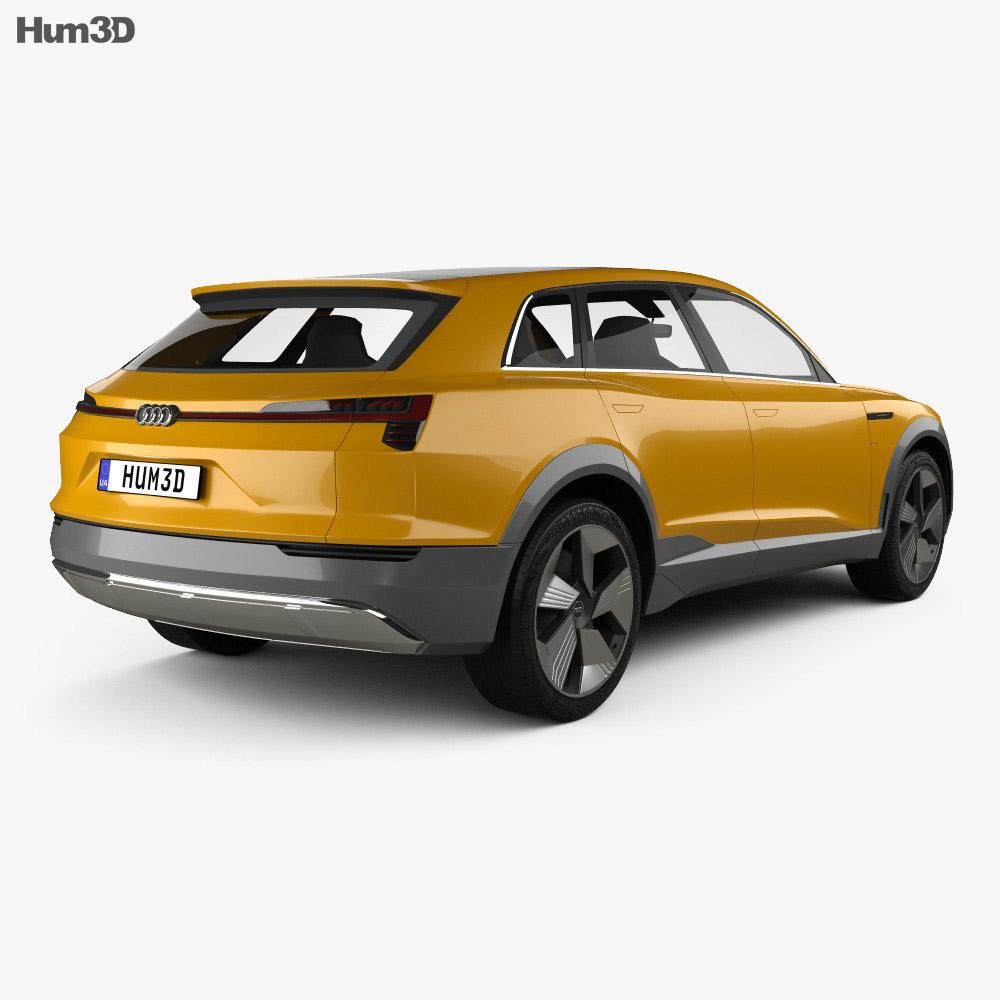 Audi h-tron quattro 2016 3d model