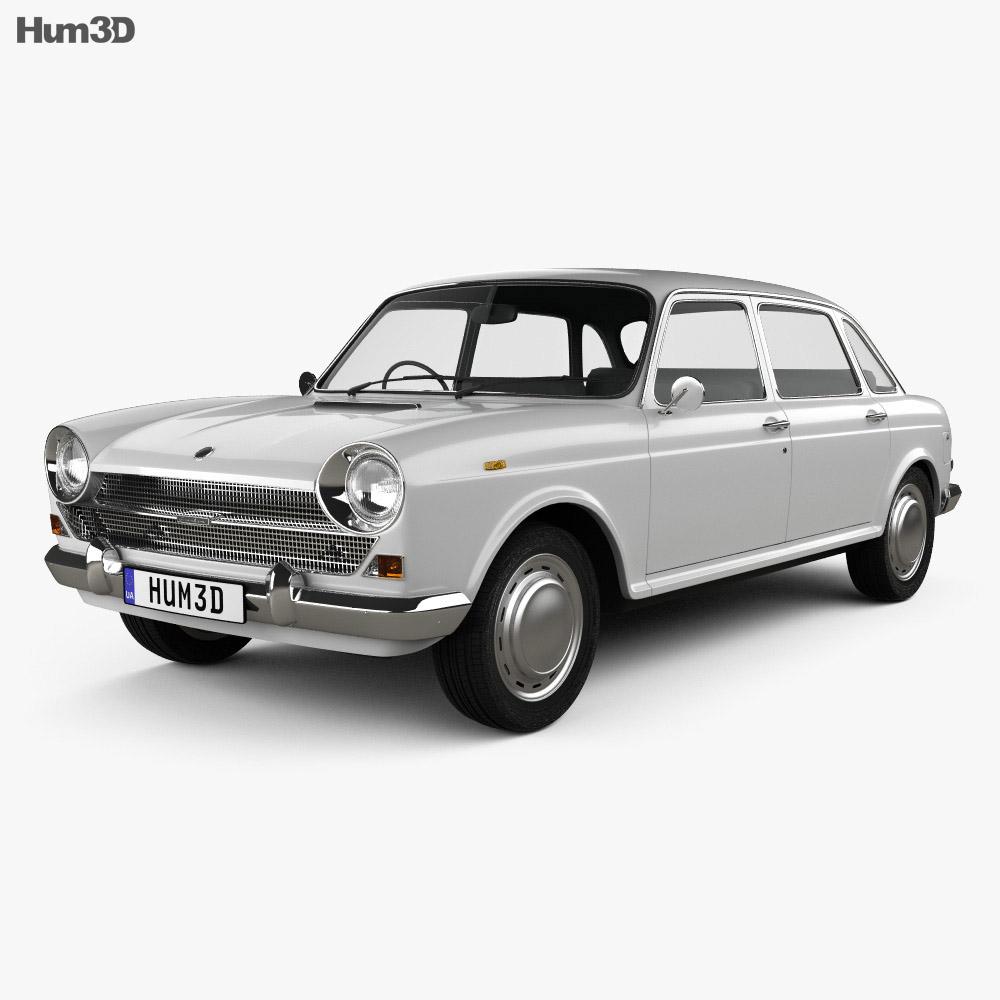 Austin 1800 1964 3d model