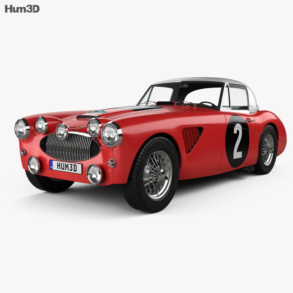 Austin Healey 3000 Alpine Rally 1962 3d model