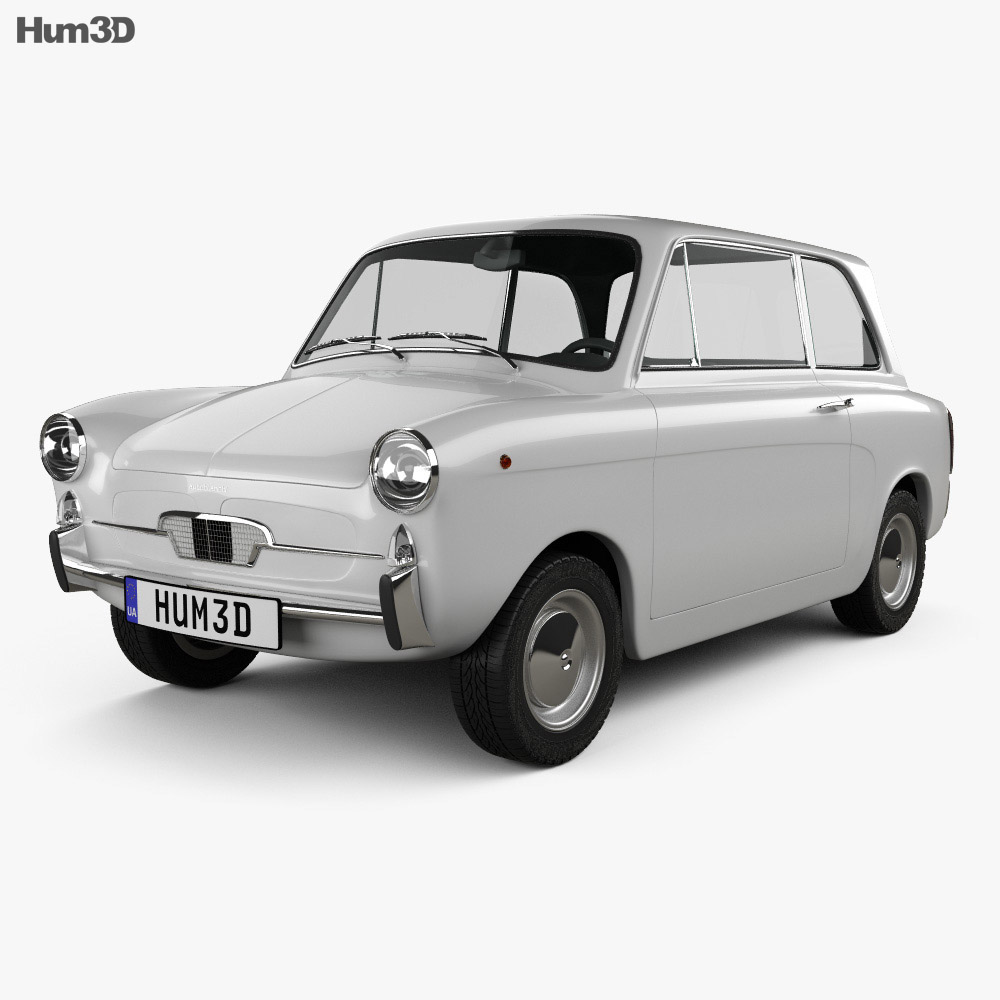 Autobianchi Bianchina Berlina 1962 3d model