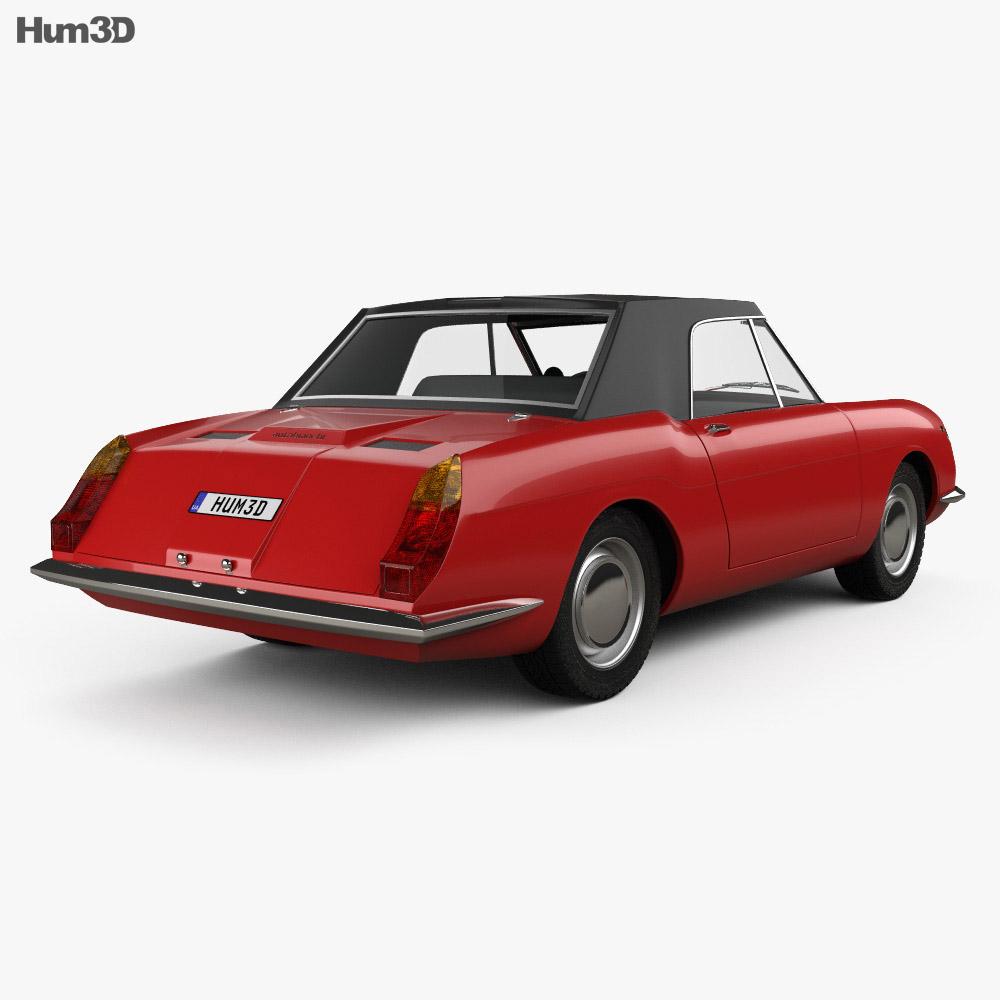 Autobianchi Stellina 1964 3d model
