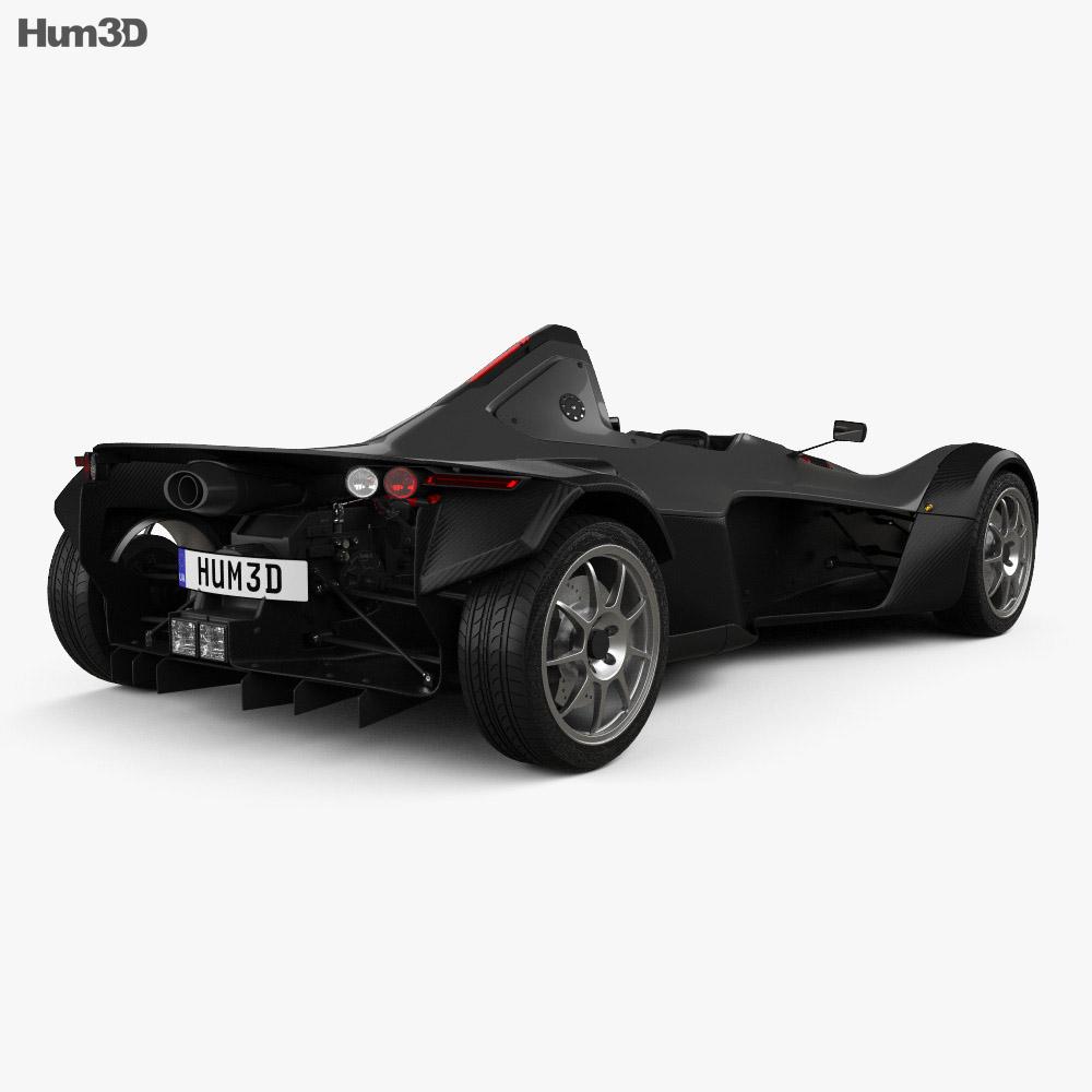 BAC Mono 2017 3d model