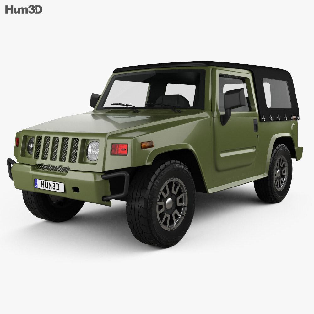 BAIC 008 2017 3d model