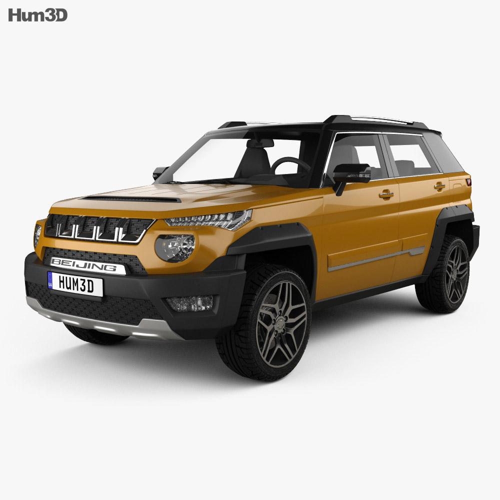 Discount Car Parts >> BAIC BJ20 2017 3D model - Hum3D