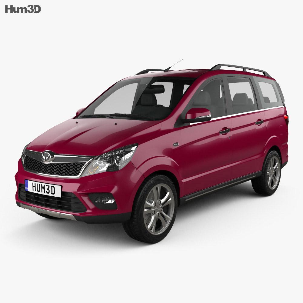 BAIC Huansu H2 2015 3d model