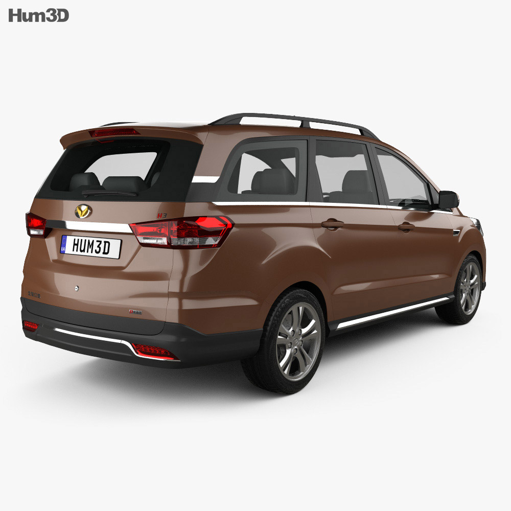 BAIC Huansu H3 2015 3d model