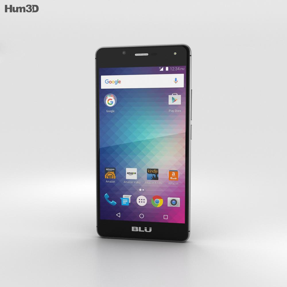 BLU R1 HD Midnight Black 3d model