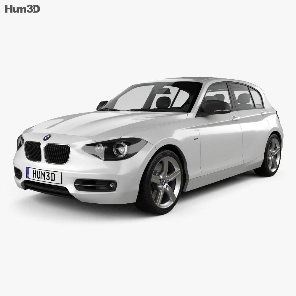 BMW 1 Series (F20) 5-door 2011 3d model