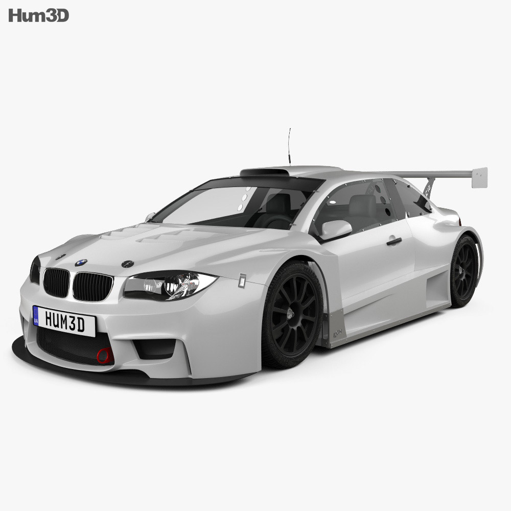 BMW M1 GC10-V8 coupe 2011 3d model
