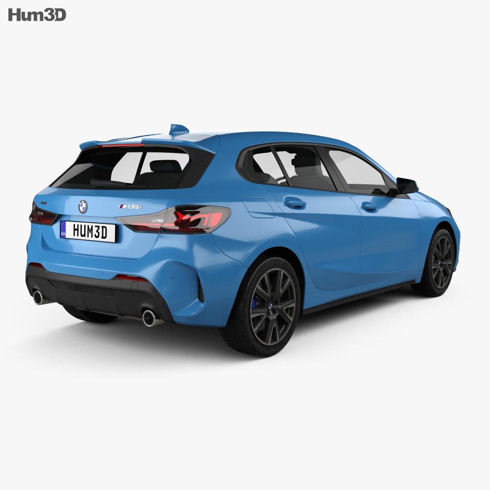 BMW 1 Series (F40) M135i 2019 3d model