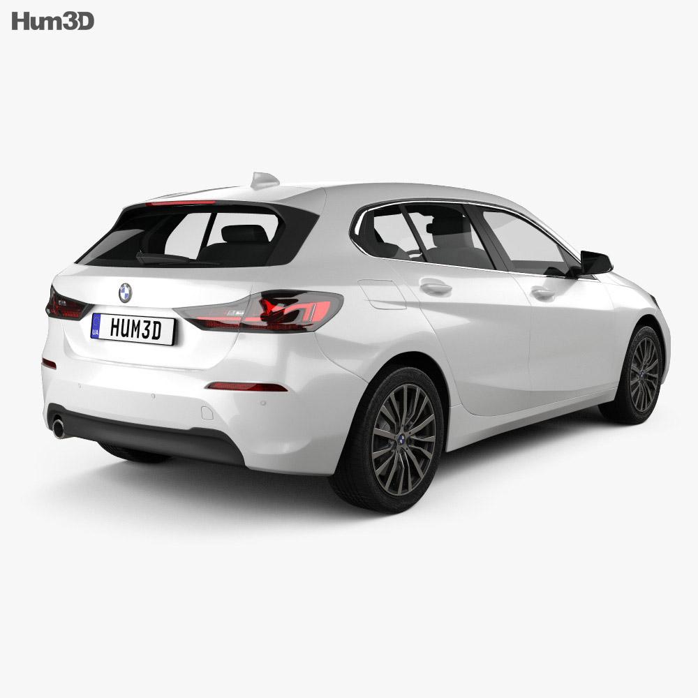 BMW 1-series (F40) Sportline 2019 3d model
