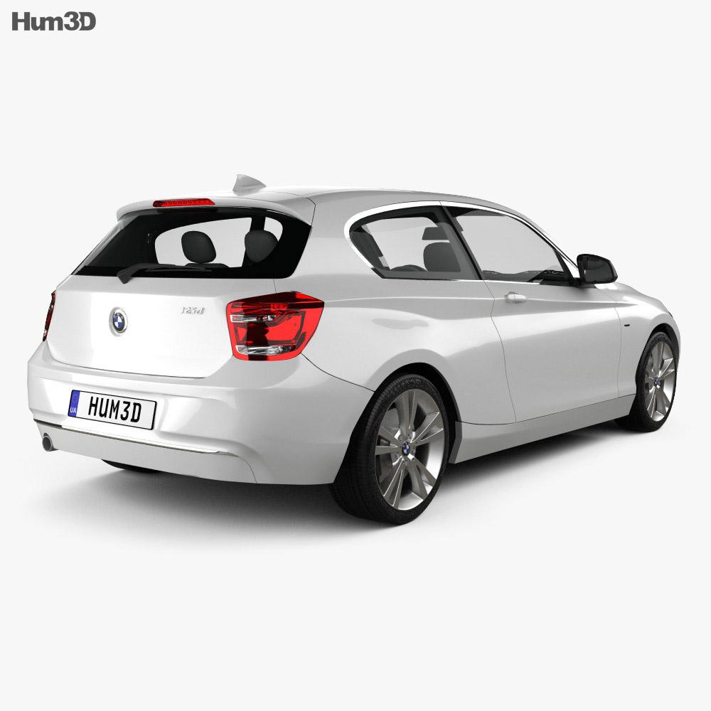 BMW 1 Series (F21) 3-door 2012 3d model