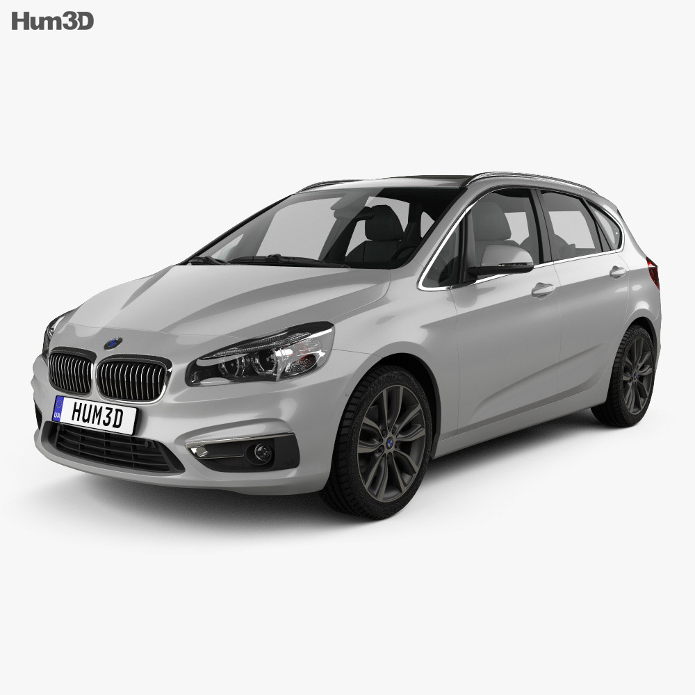 BMW 2 Series Active Tourer (F45) 2014 3d model