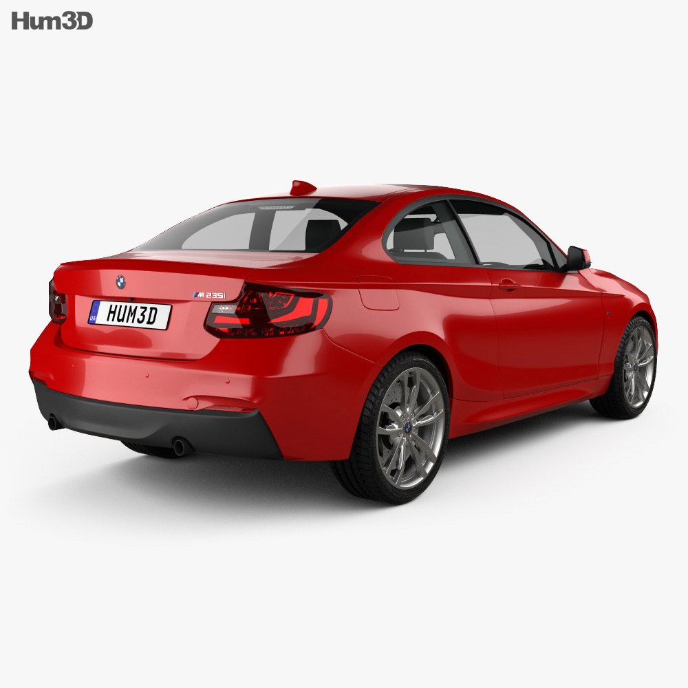 BMW M235i coupe (F22) 2014 3d model