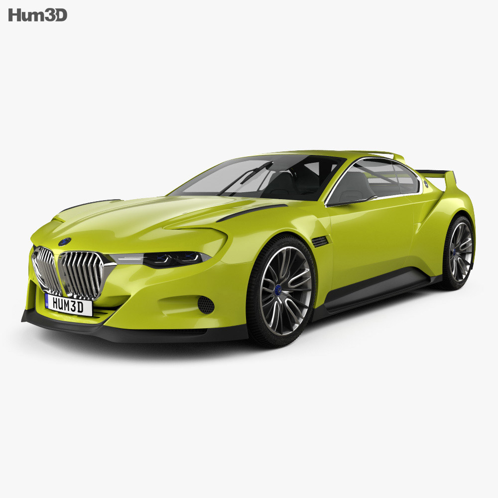 Bmw 3.0 Csl >> Bmw 3 0 Csl Hommage 2015 3d Model Vehicles On Hum3d