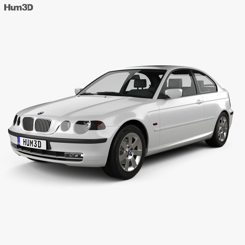 Bmw 3 Series Compact E46 2004 3d Model