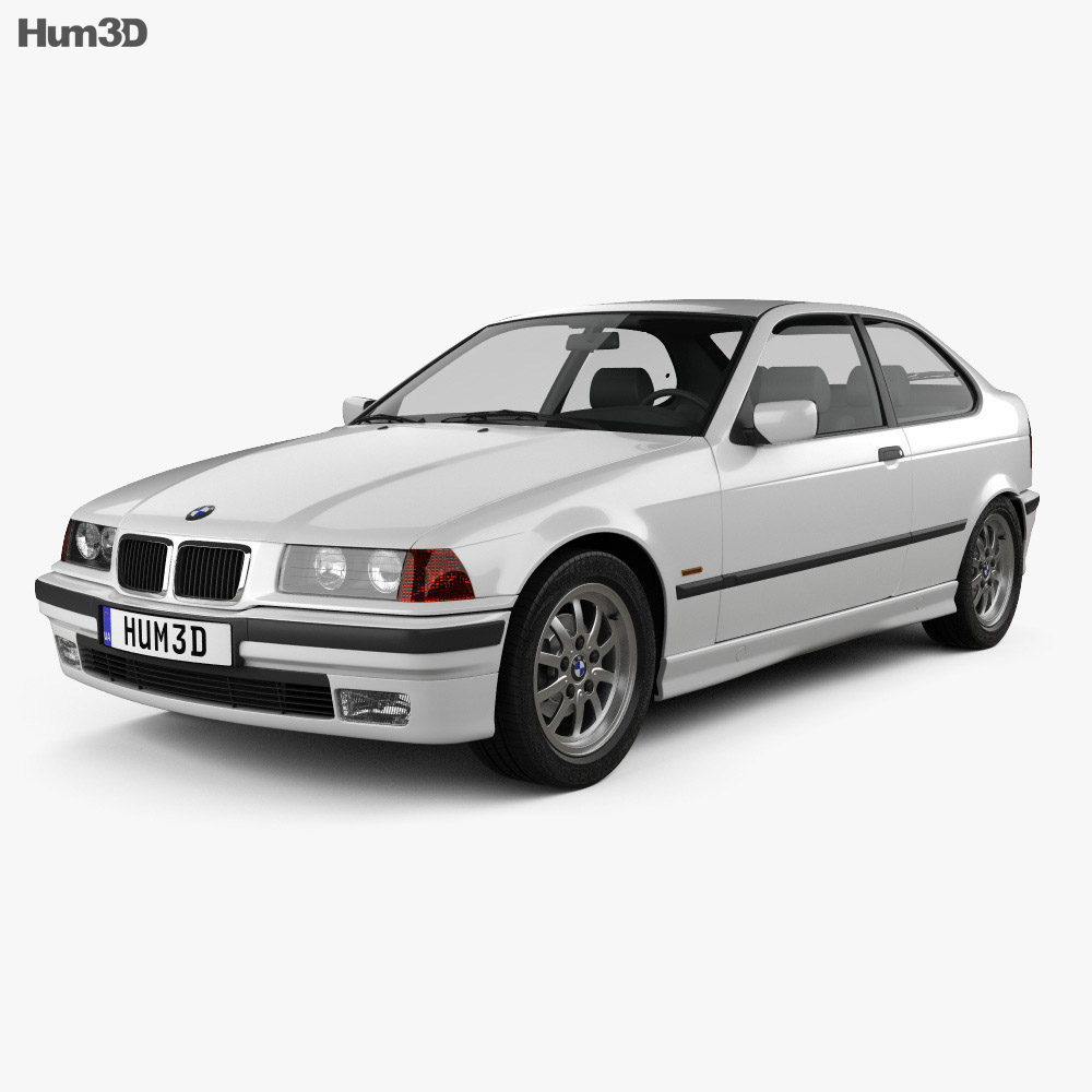BMW 3 Series (E36) compact 1994 3d model