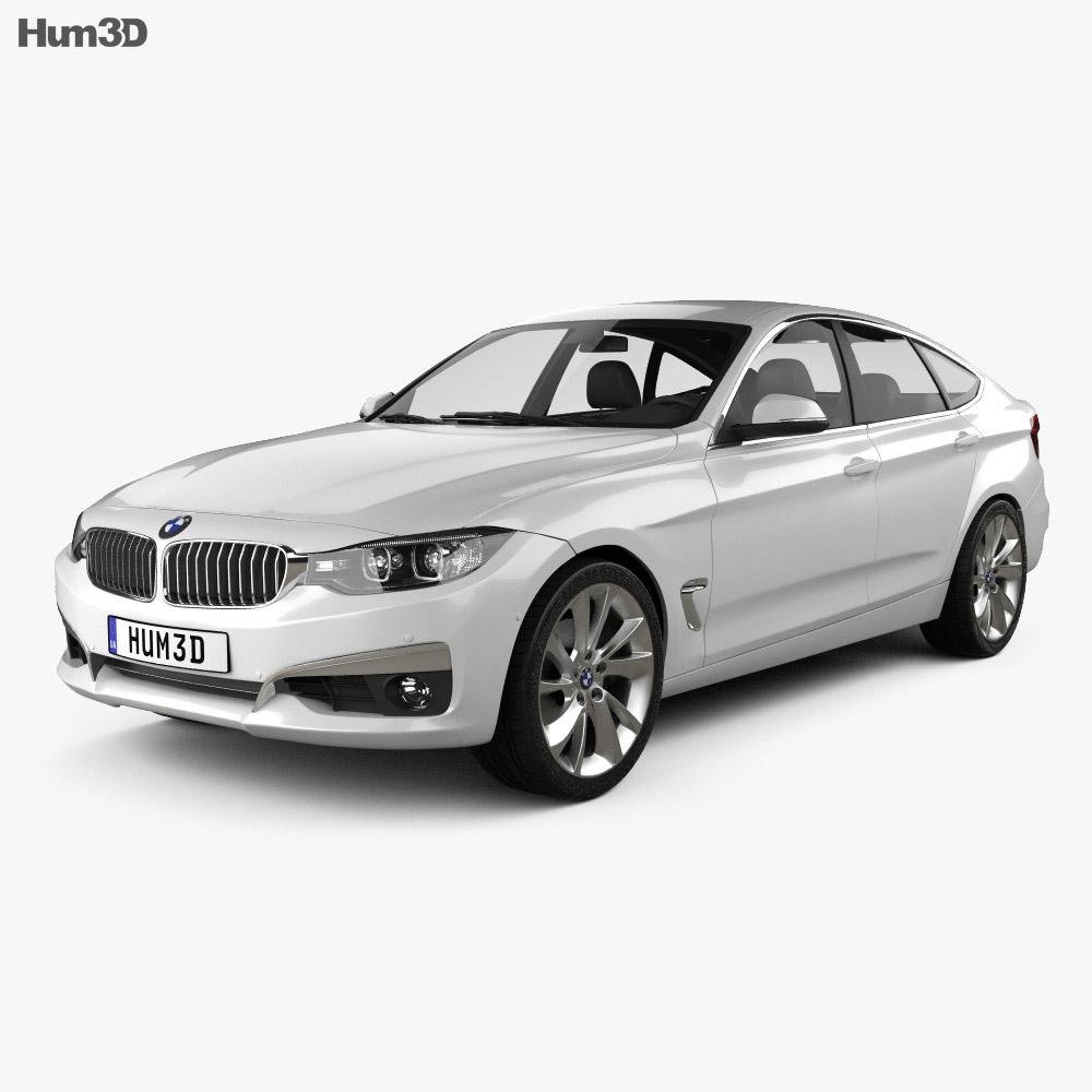 BMW 3 Series Gran Turismo (F34) 2013 3d model