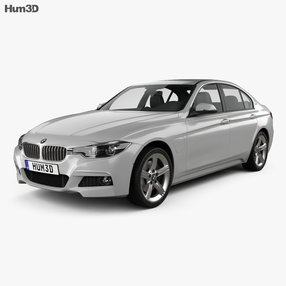 bmw 3 series f30 e 2016 3d model hum3d. Black Bedroom Furniture Sets. Home Design Ideas