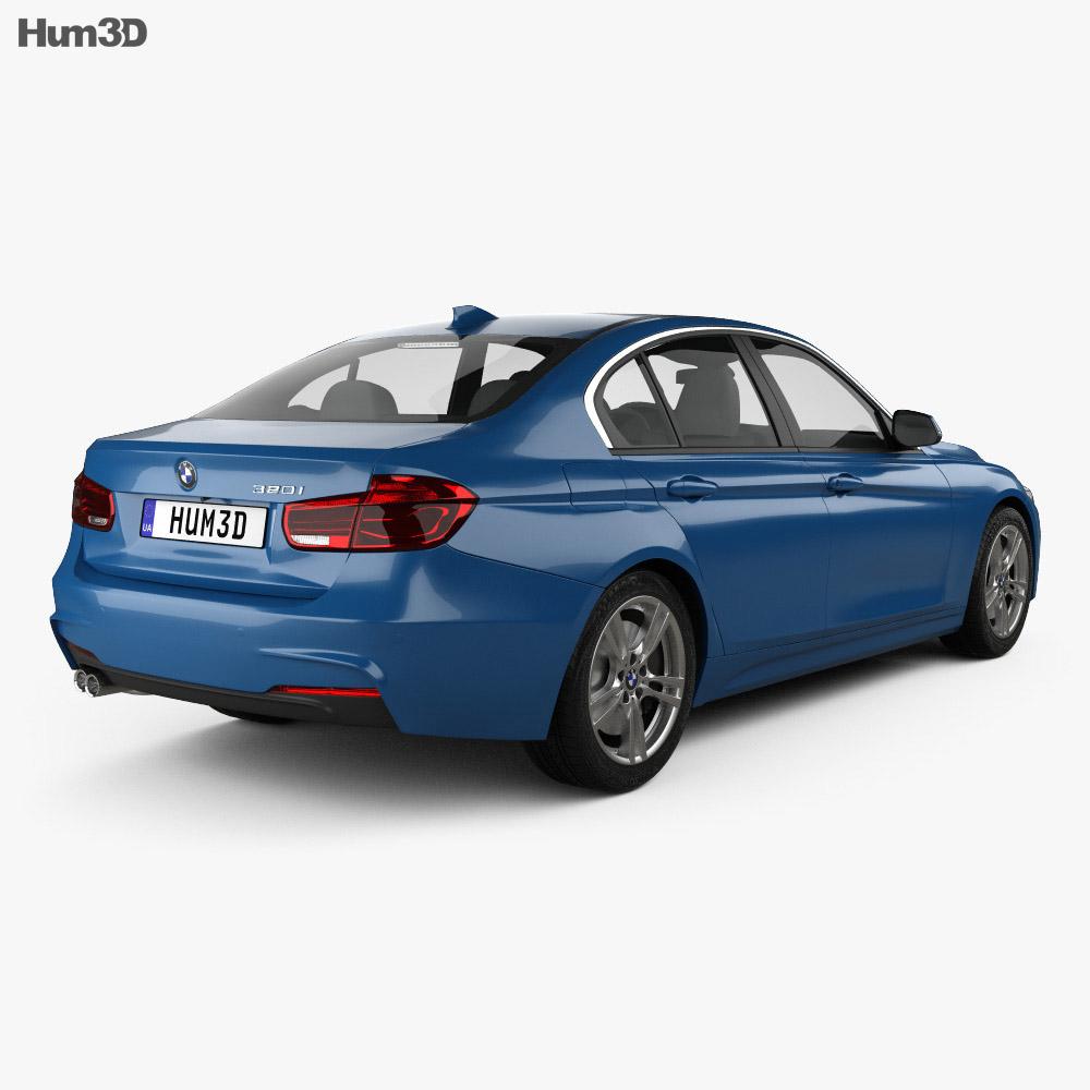 BMW 3 Series (F30) M Sport 2015 3d model