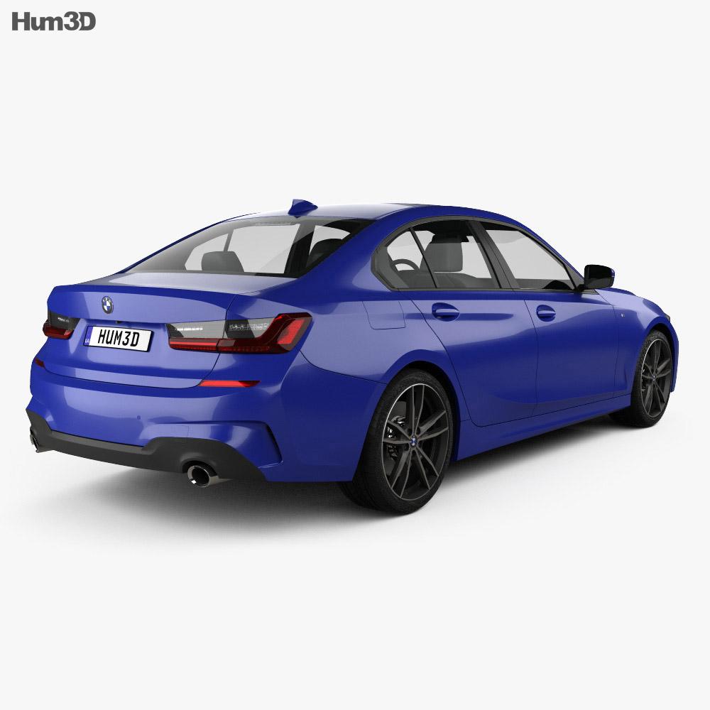BMW 3 Series (G20) M Sport sedan 2019 3d model