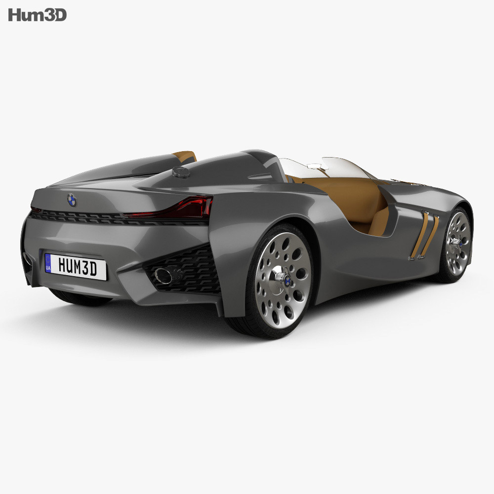 bmw 328 hommage 2011 3d model humster3d. Black Bedroom Furniture Sets. Home Design Ideas