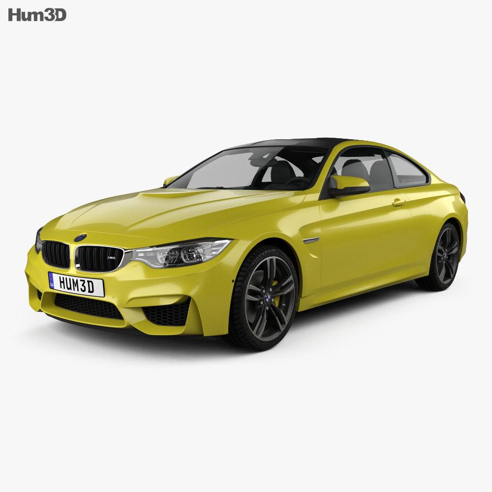 BMW M4 (F82) 2014 3d model