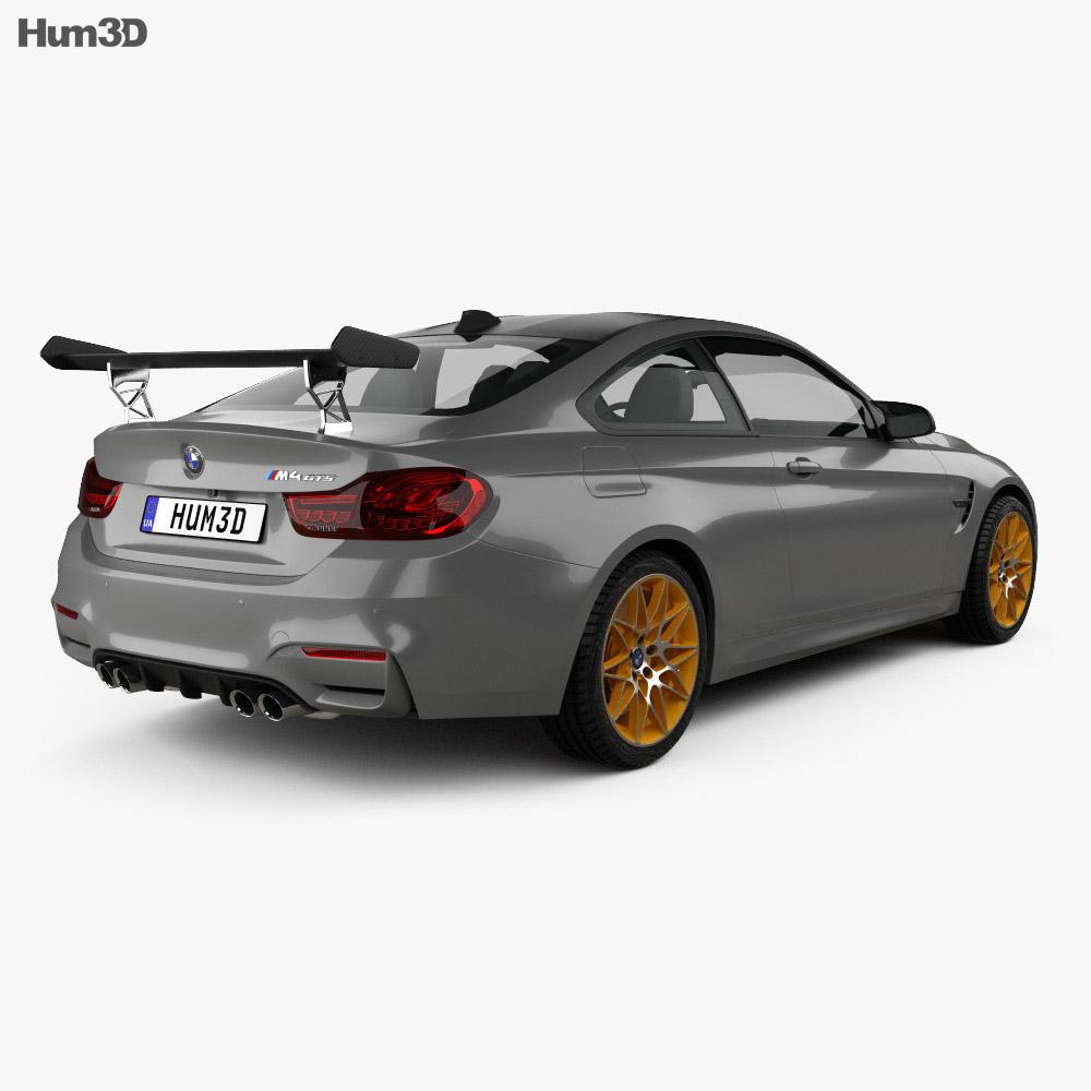 BMW M4 GTS Concept 2015 3d model