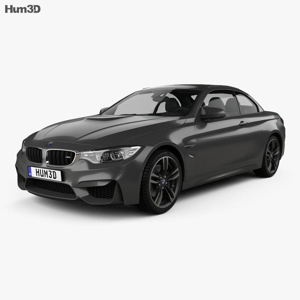 BMW M4 (F83) convertible 2014 3d model