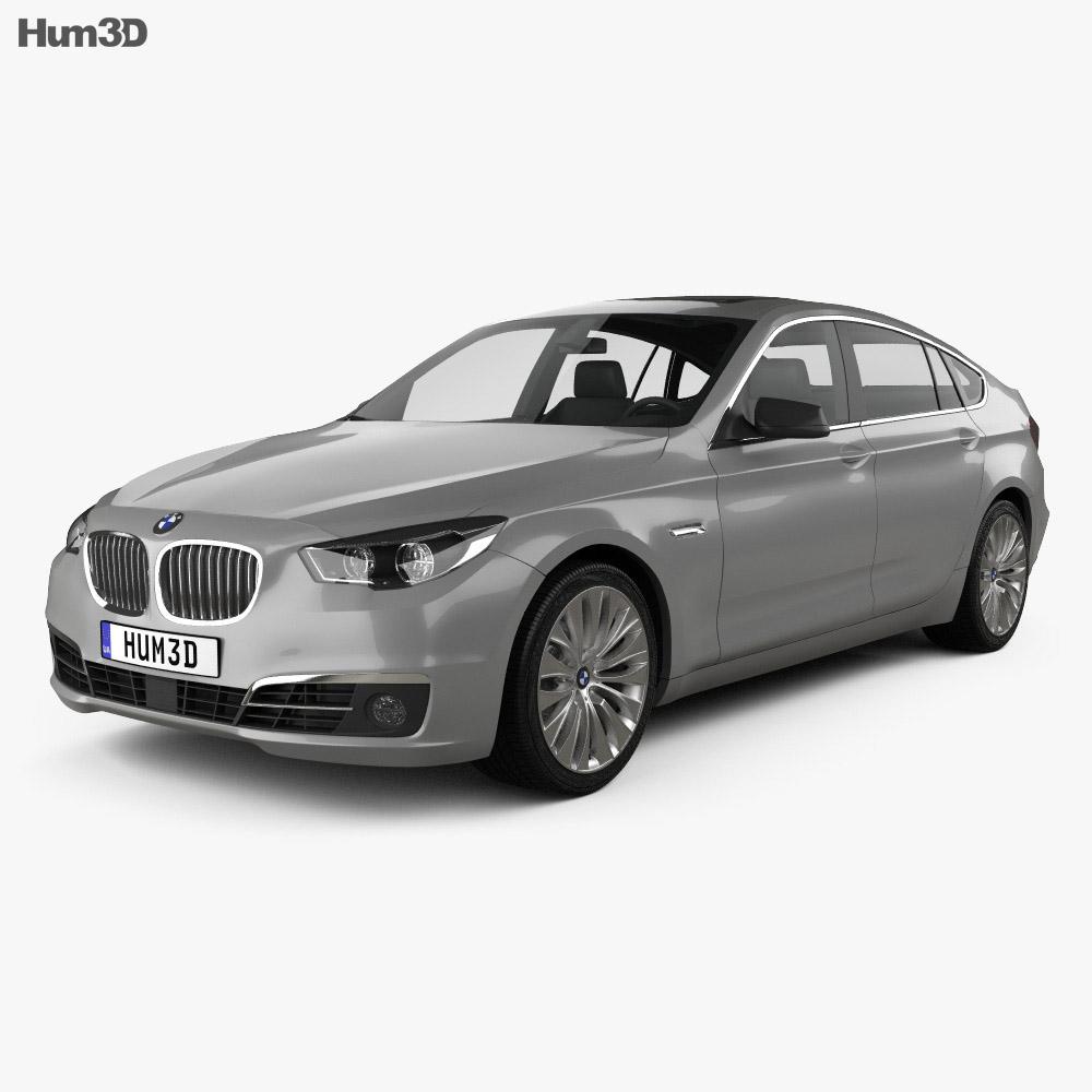 BMW 5 Series (F07) Gran Turismo 2014 3d model