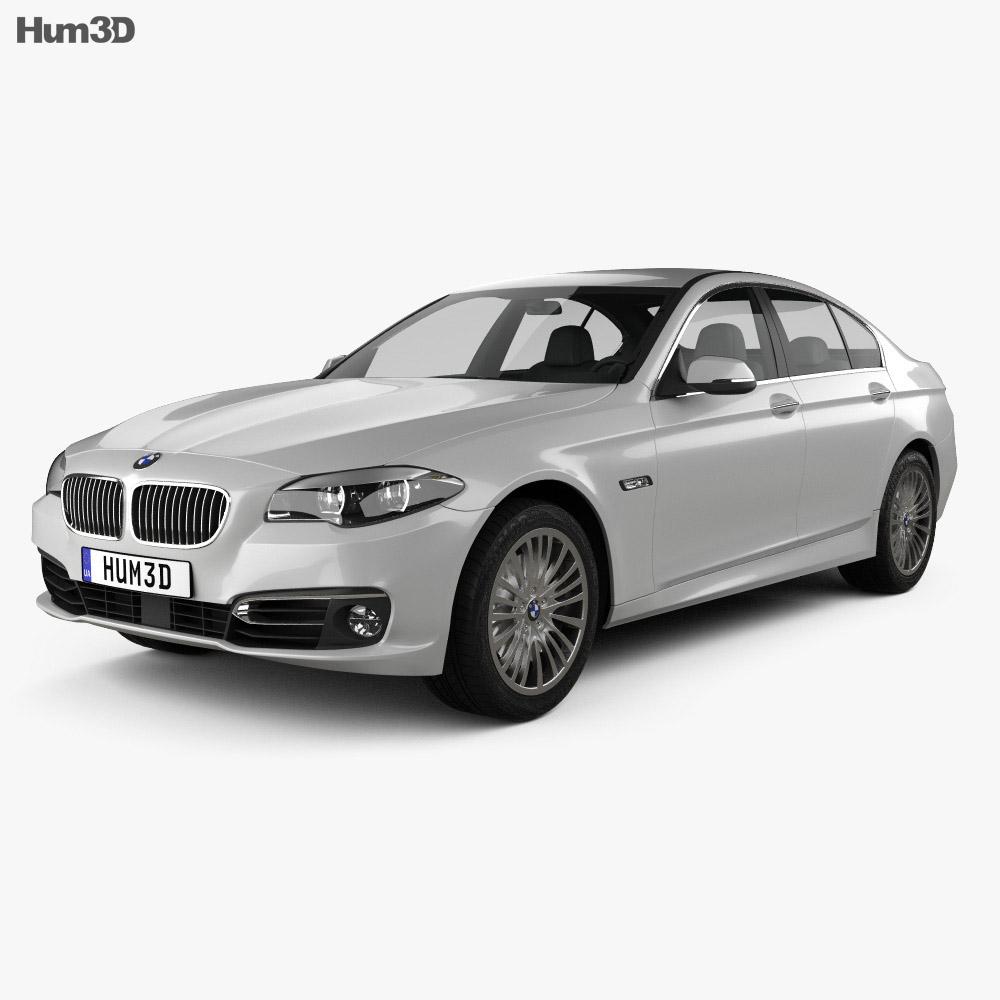 BMW 5 Series (F10) Sedan 2014 3D Model