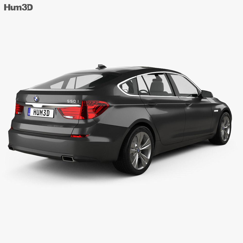 BMW 5 series Gran Turismo 2011 3d model