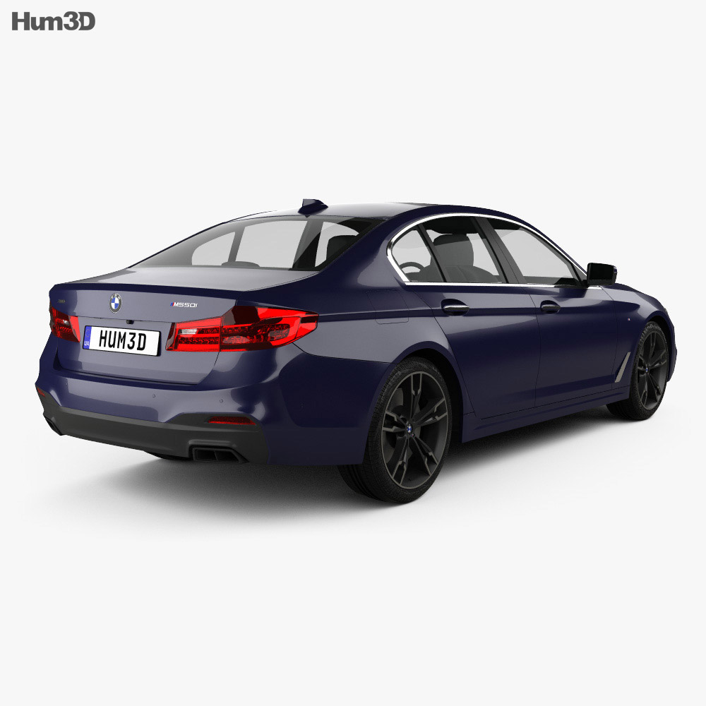 BMW 5 Series (G30) M Performance 2017 3D Model