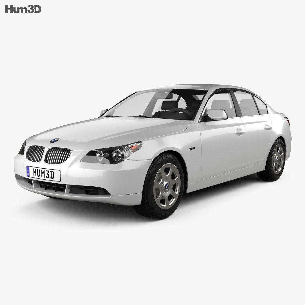 bmw 5 series sedan e60 2010 3d model vehicles on hum3d. Black Bedroom Furniture Sets. Home Design Ideas