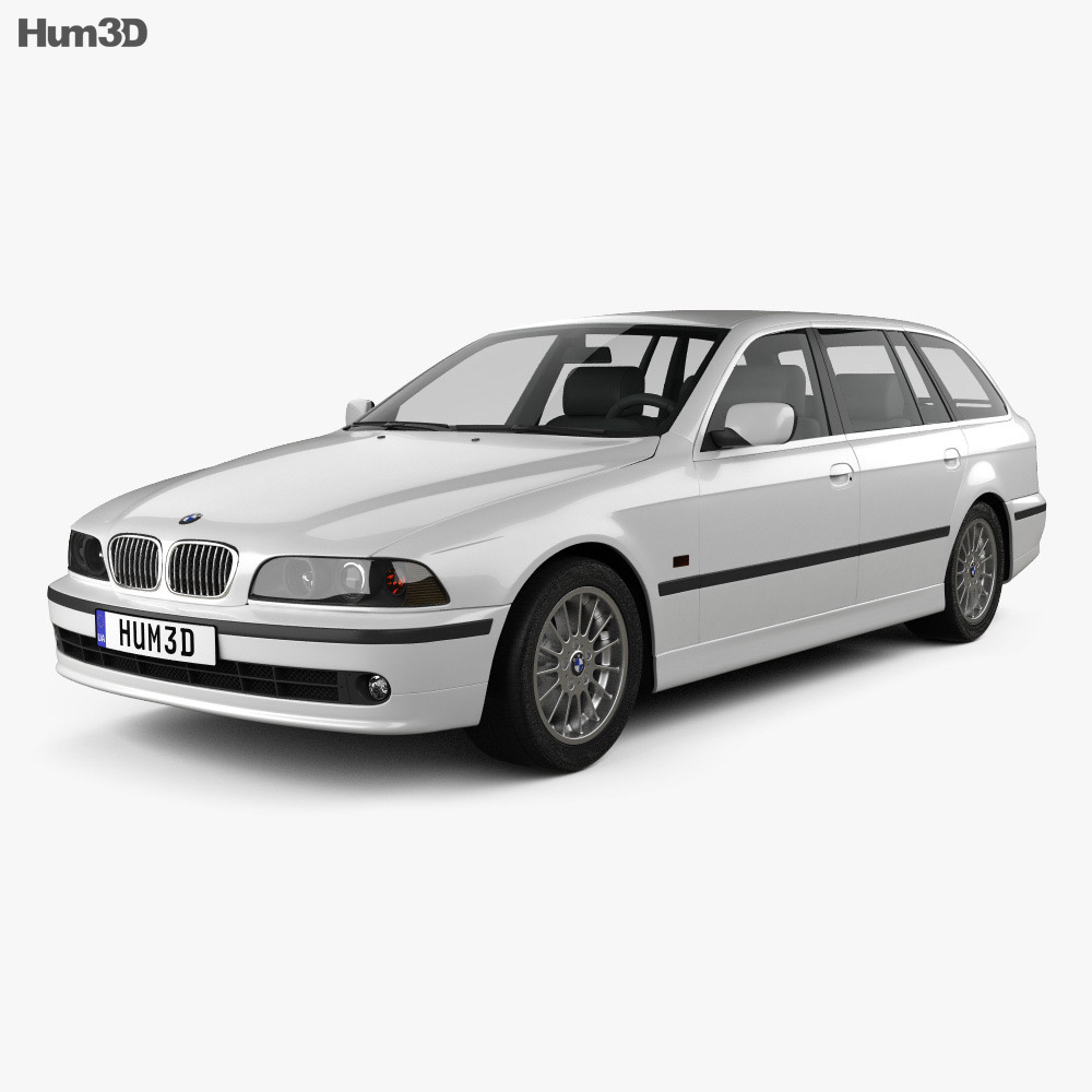 BMW 5 Series E39 Touring (1995-2003) 3d model