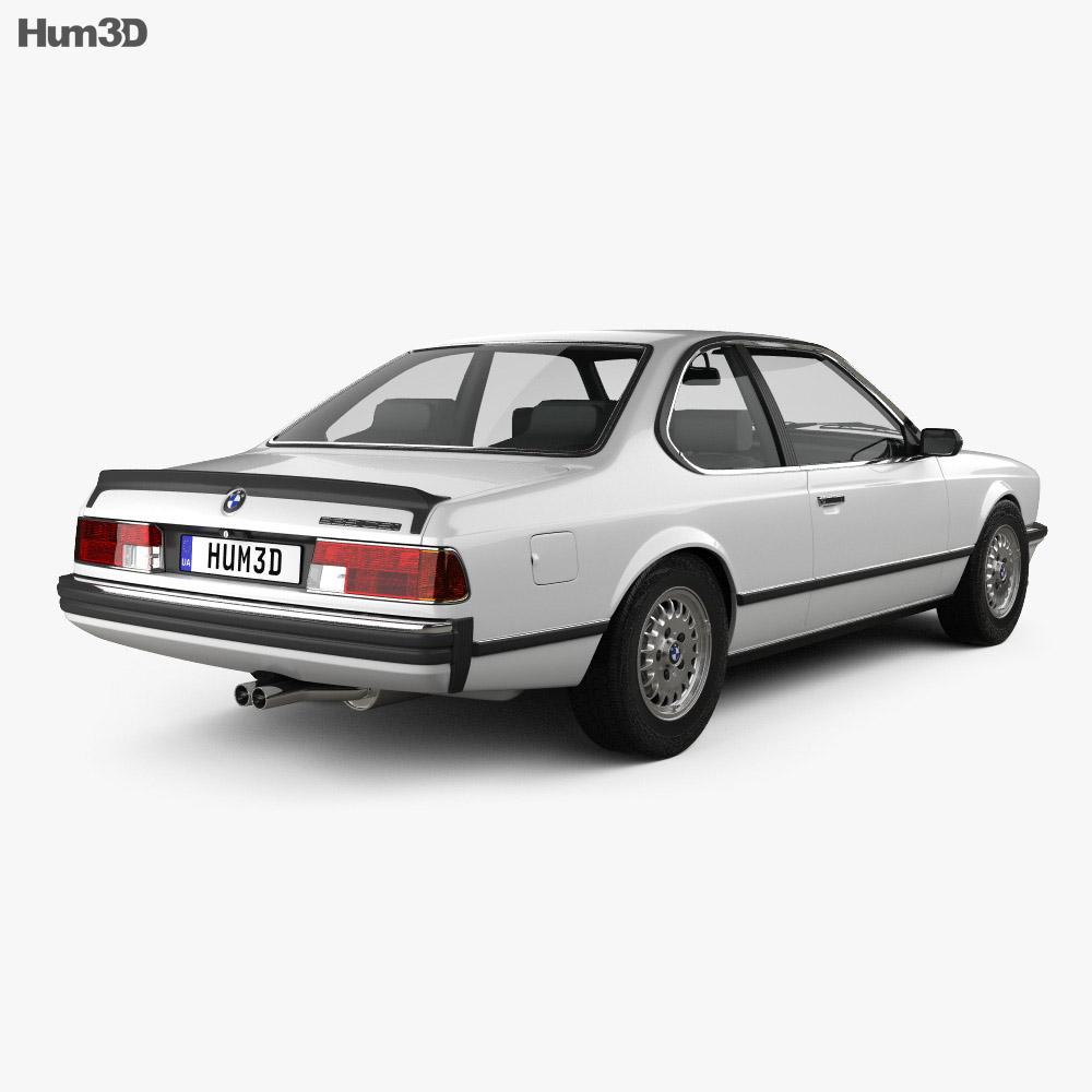 BMW 6 Series (E24) 1978 3d model