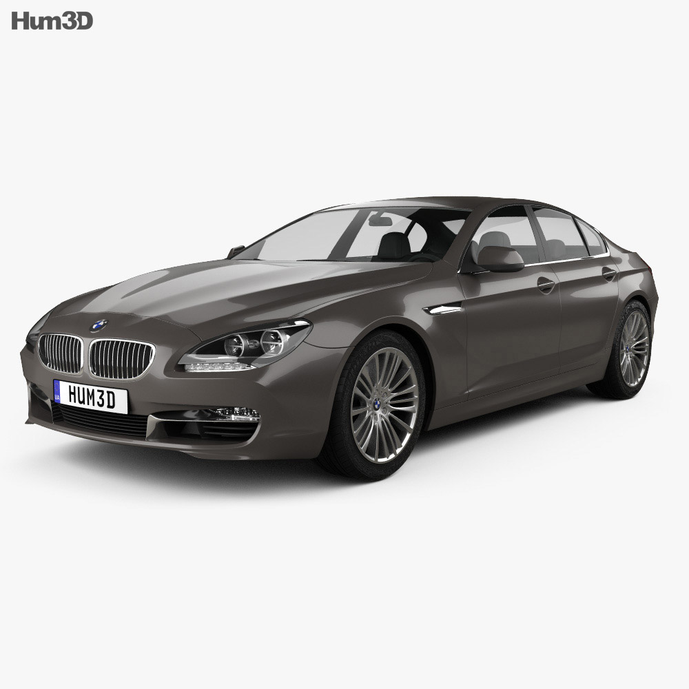 BMW 6 Series (F06) Gran Coupe 2012 3d model