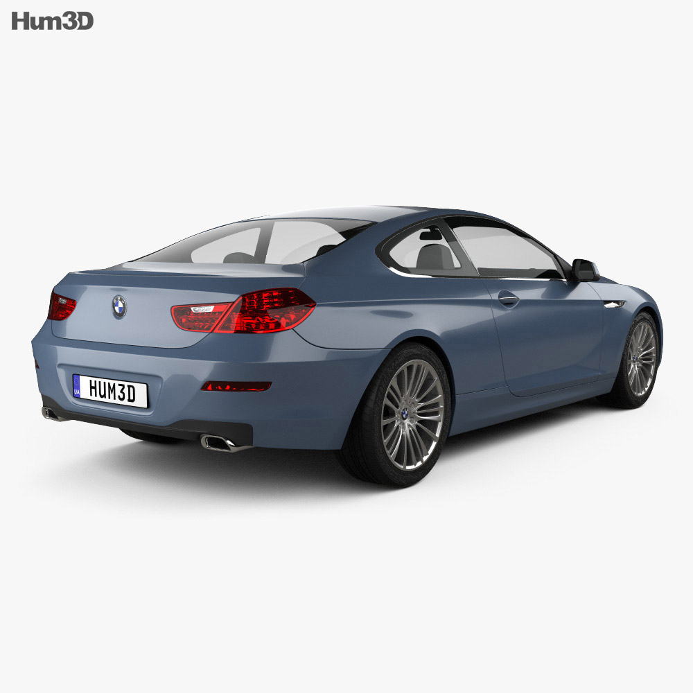 Bmw 6 Series: BMW 6 Series (F13) Coupe 2012 3D Model