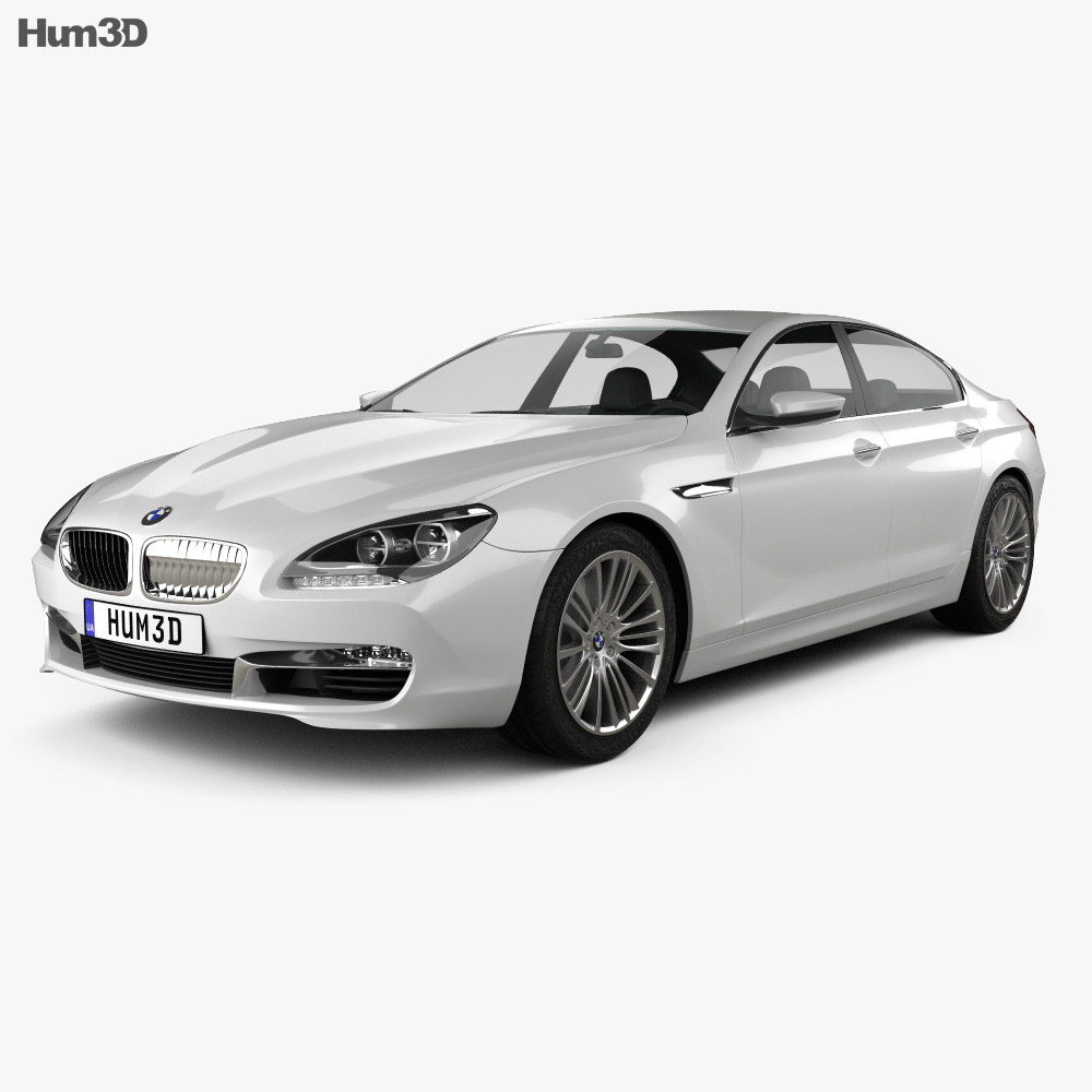 BMW 6 Series Gran Coupe (F14) 2012 3D Model