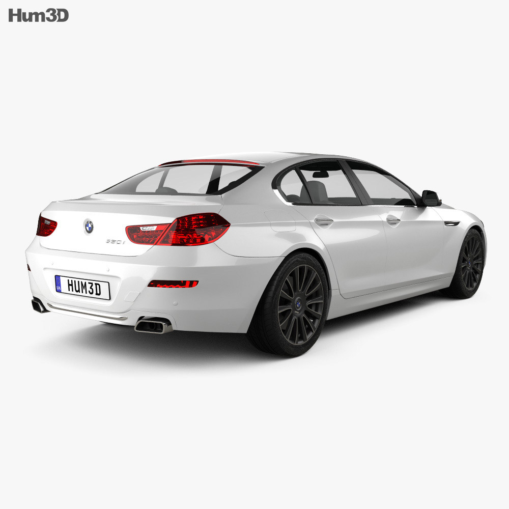 BMW 6 Series Gran Coupe (F06) 2015 3D Model