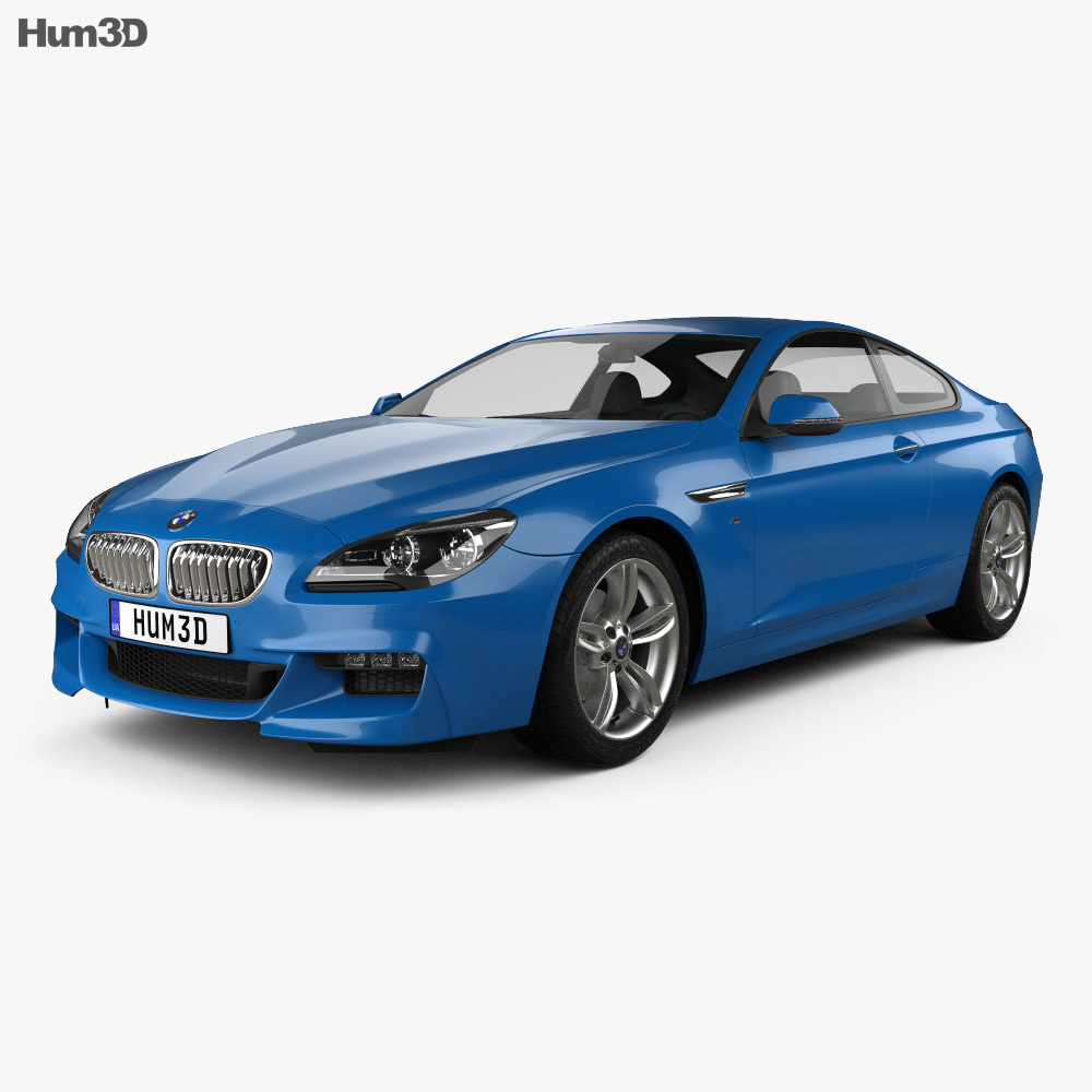 BMW M6 (F13) Coupe Sport Package 2015 3D Model