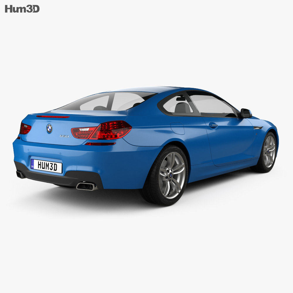 Bmw M6: BMW M6 (F13) Coupe Sport Package 2015 3D Model